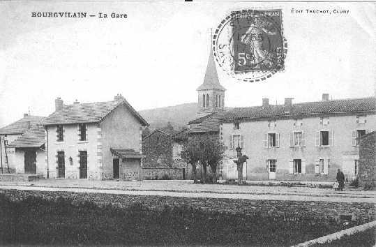 Gare de Bourgvilain
